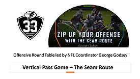 Vertical Pass Game - The Seam Route