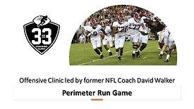 Perimeter Run Game - Zone, Pin & Pull, Toss Crack