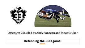 Defending the RPO game