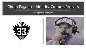 Chuck Pagano - Identity, Culture, Process