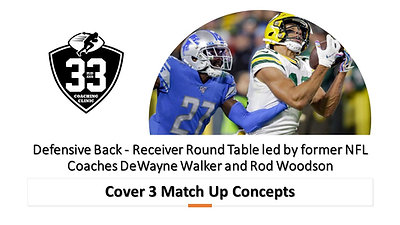 DB/WR Round Table: Cover 3 Match Up Concepts