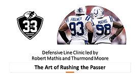 The Art of Rushing the Passer