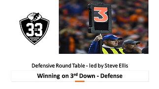 Winning on 3rd Down - Defense