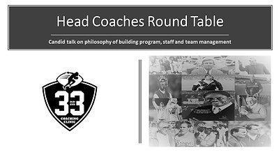 Head Coaches Round Table