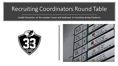 Recruiting Coordinator Round Table