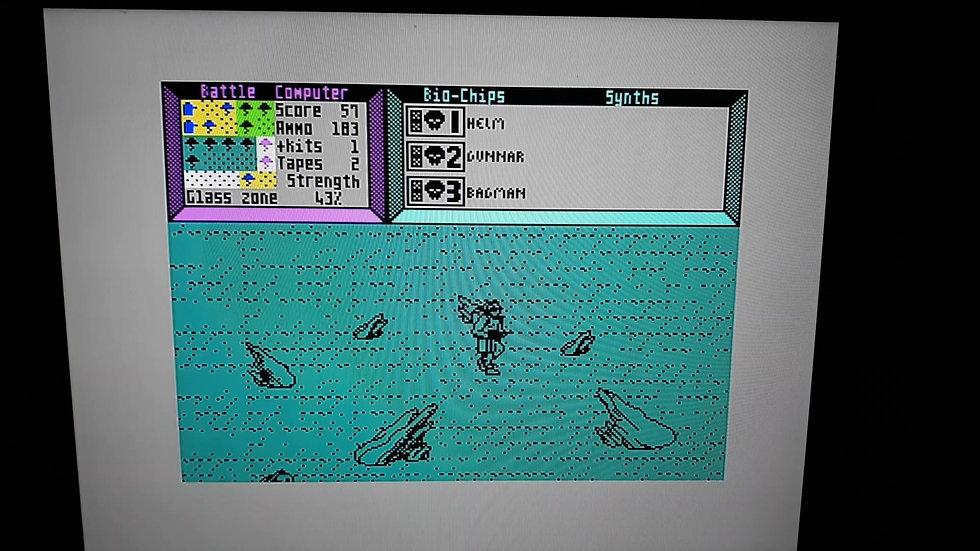 ZX Spectrum Rogue Trooper Game Play