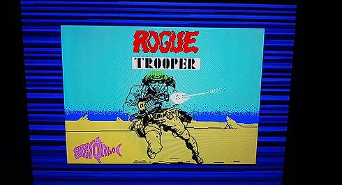 ZX Spectrum Rogue Trooper Loading