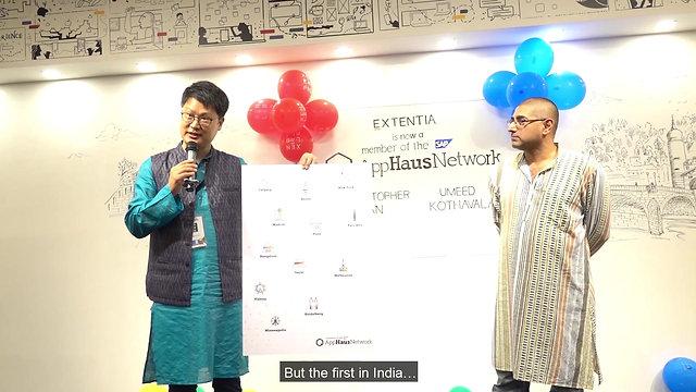 SAP AppHaus Launch at XEN LAB PNQ Extentia