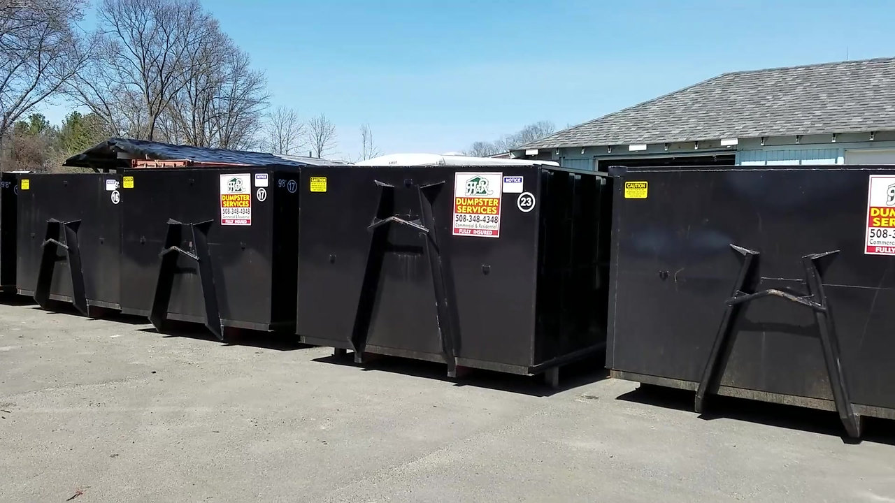 See our Dumpsters in Action!