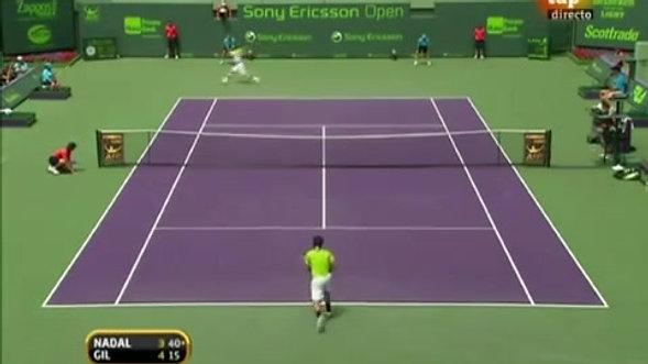 Rafael Nadal vs Frederico Gil