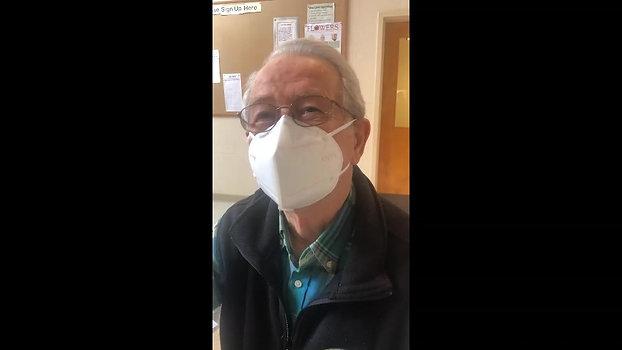 Walter Strauch, retired hospital CEO, Gilford, NH