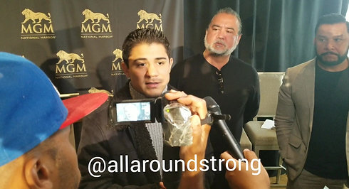 Diaz Interview @ MGM 2018