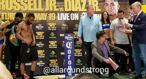 Russell vs Diaz Weigh-in @ MGM National Harbor