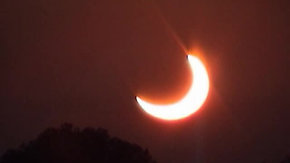 Partial Sun Eclipse 2003
