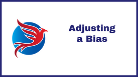 4. Blue Scan - Changing a Bias