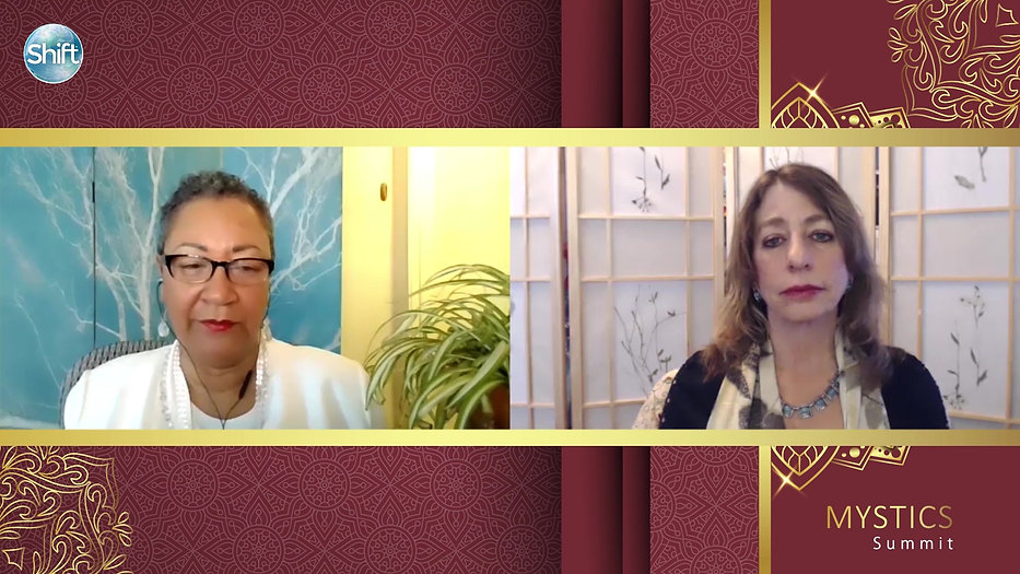 Mirabai Starr interview with Rev. Aliah MaJon on Interspirituality and Cultural Appropriation for the Shift Mystics Summit