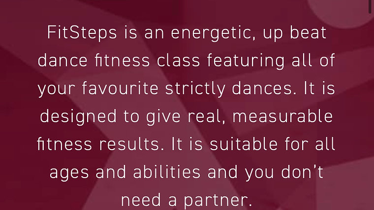 Fitsteps with Pat Stott