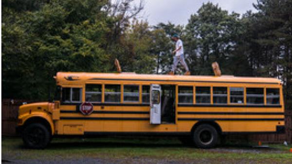 A Boy and a Bus (Documentary)