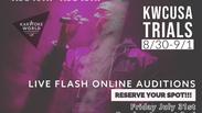KWCUSA Flash Round August 2nd 2020