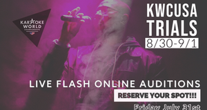 KWCUSA Flash Round August 2nd 2020