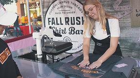 Fall Rush T-Shirt Promo Pt. 2