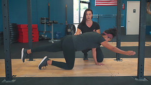 Brittany Kohnke Fitness Training: Bird Dog