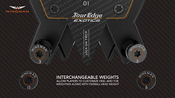 Tour Edge Exotics Wingman Putters