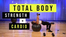 Total Body Strength + Cardio