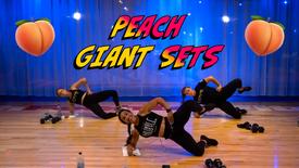 Peach Giant Sets