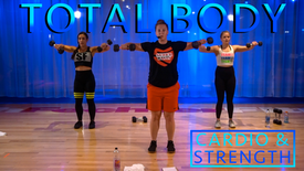 Total Body Cardio/Strength