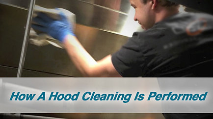 How A Hood Cleaning Is Performed
