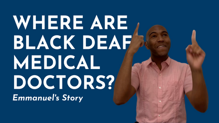 Where are Black Deaf Medical Doctors?