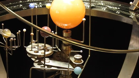 The Tower Orrery , Moving model of the solar system .