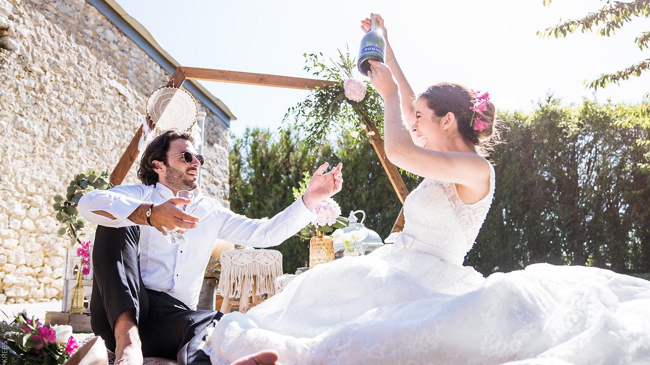 Mariage à la Ferme du Bois aux Dames