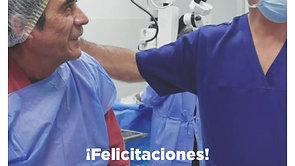 Recién terminada la cirugía