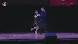 Barbara Ferreyra y Exequiel Relmuan Final del Mundial de Tango de Escenario 2015