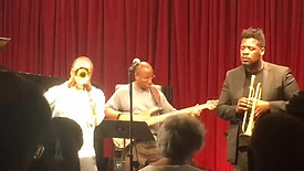 Nabaté Isles in a tribute to Trumpet Master Jimmy Owens at Festival of New Trumpet Music