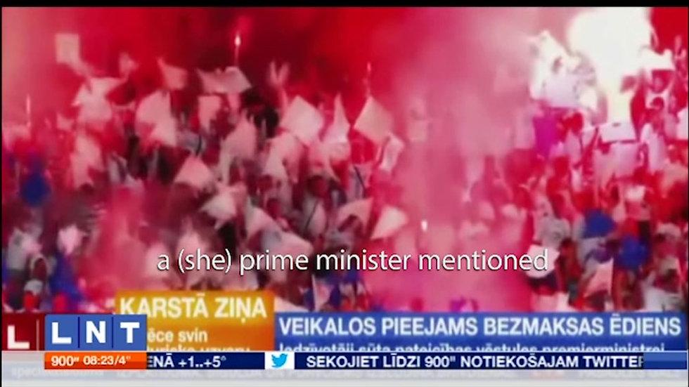 LNT news Lazer Team w prime minister