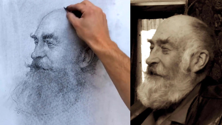 Portrait Drawing with Josh Clare