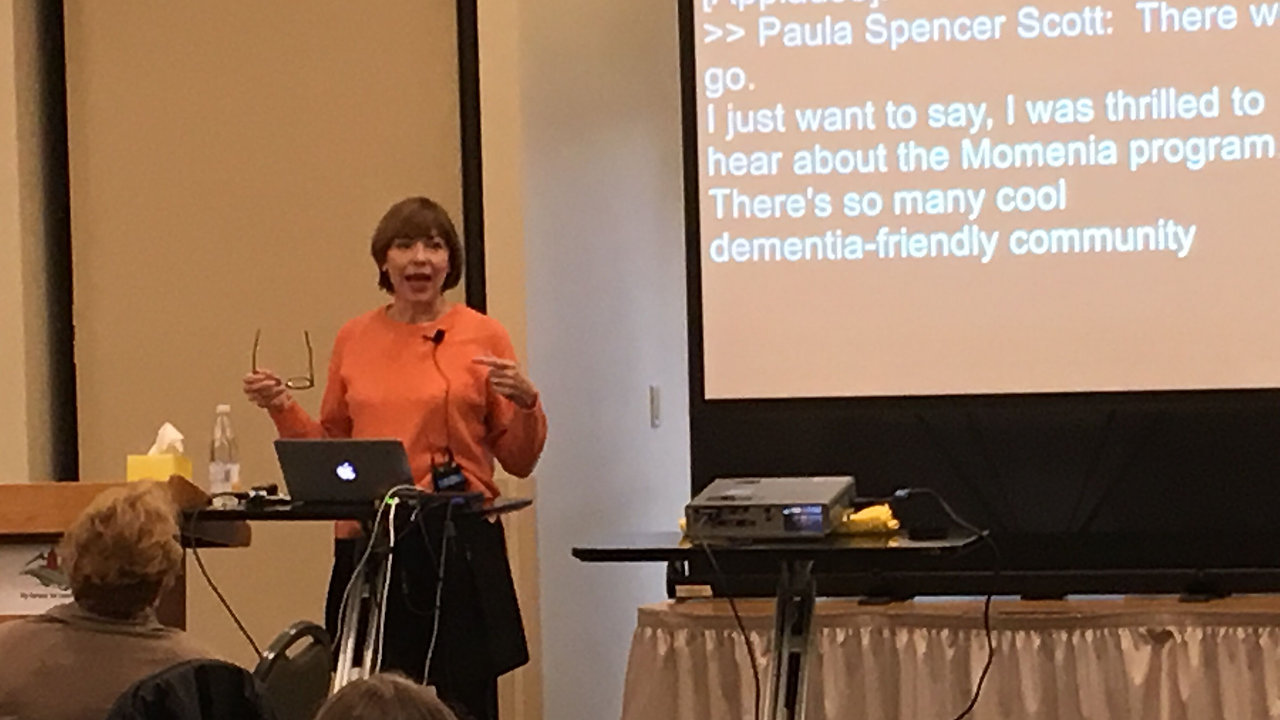 "Watch Speaking Sample: ""The Heart of Dementia Care"""