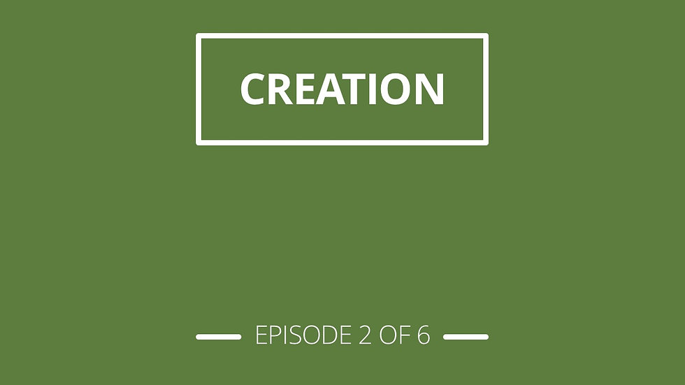 2. Creation - Christian Stuff Series