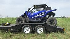 YXZ1000R トリニティレーシング ステージ5マフラー&フューエルインジェクションコントローラー装着 テストラン
