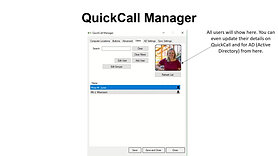 QuickCall Website Manager