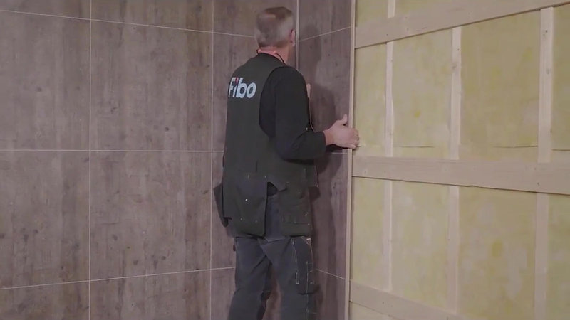 Beyond Tiles Installation Guide - Shower base with flange panels on top