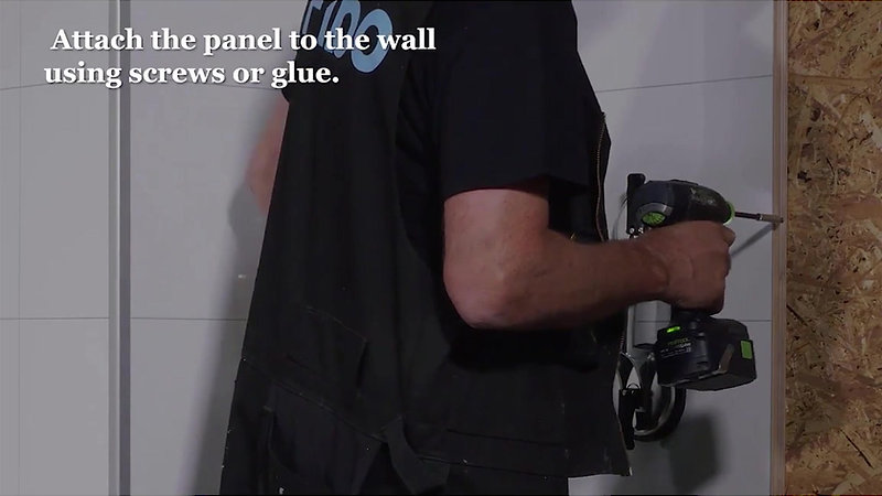 Beyond Tiles Installation Guide - How to install internal corner - Part 2