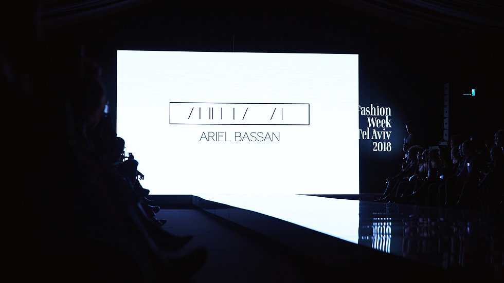 ARIEL BASSAN AW18/19 RUNWAY at Tel Aviv FASHION WEEK