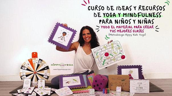 Curso de Ideas y Recursos de Yoga y Mindfulness para niños y niñas