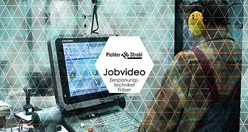Jobvideo Zerspanungstechniker Fräser