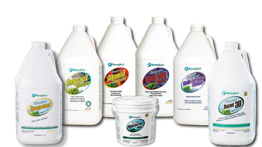 Benefect Botanical Cleaners & Disinfectant