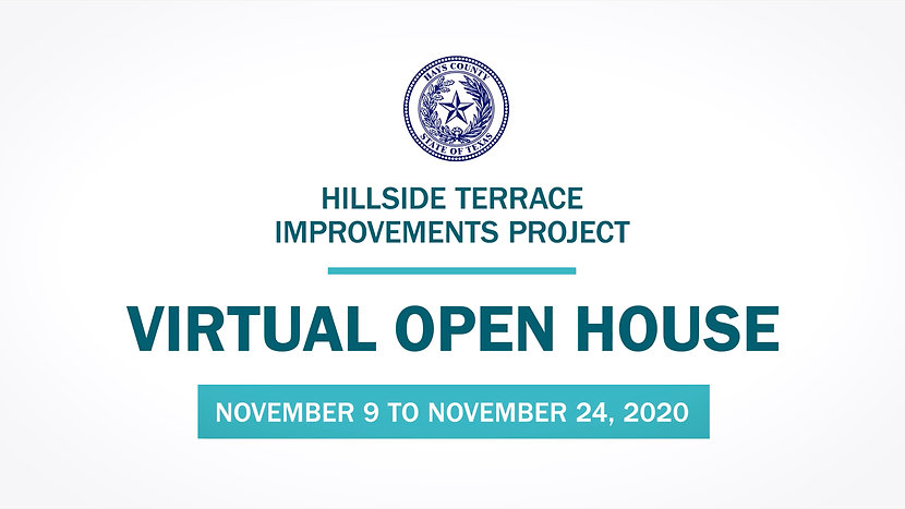 Hillside Terrace Virtual Open House